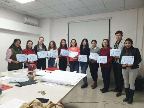 Кыргыз Республикасынын калктын каржылык сабаттуулугун жогорулатуу боюнча тренинги